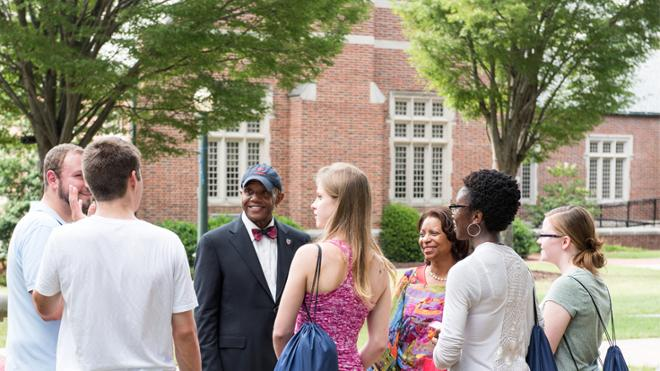President Crutcher's essay featured on Inside Higher Ed