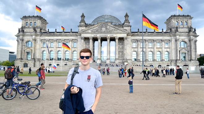 Ryan McEvoy, '17 Awarded Fulbright to Germany