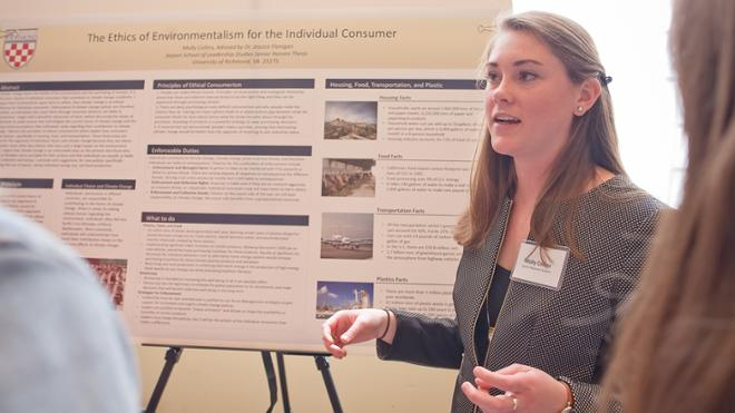 Students Present at Jepson Research Symposium