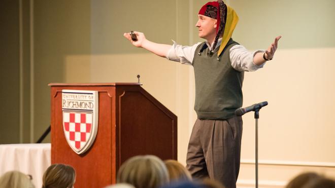 David Gardner Brings High Energy to Jepson School