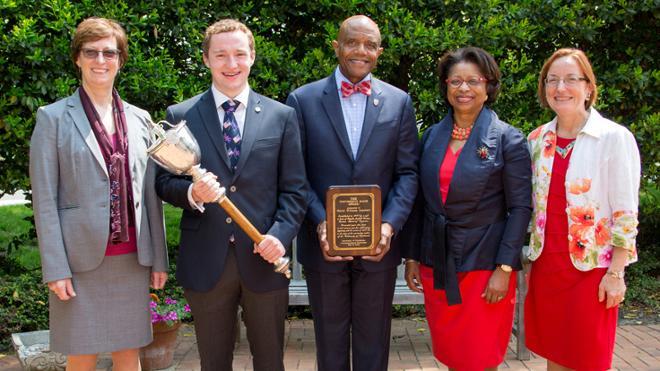 Jepson Student Receives The University Mace Award