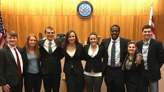 Mock Trial Team to National Championships