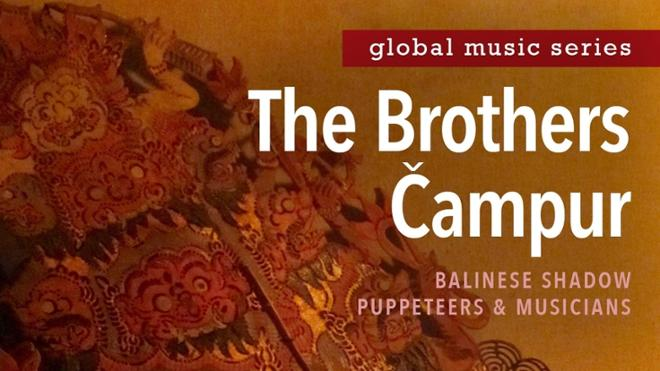 Global Music Series: The Brothers Campur