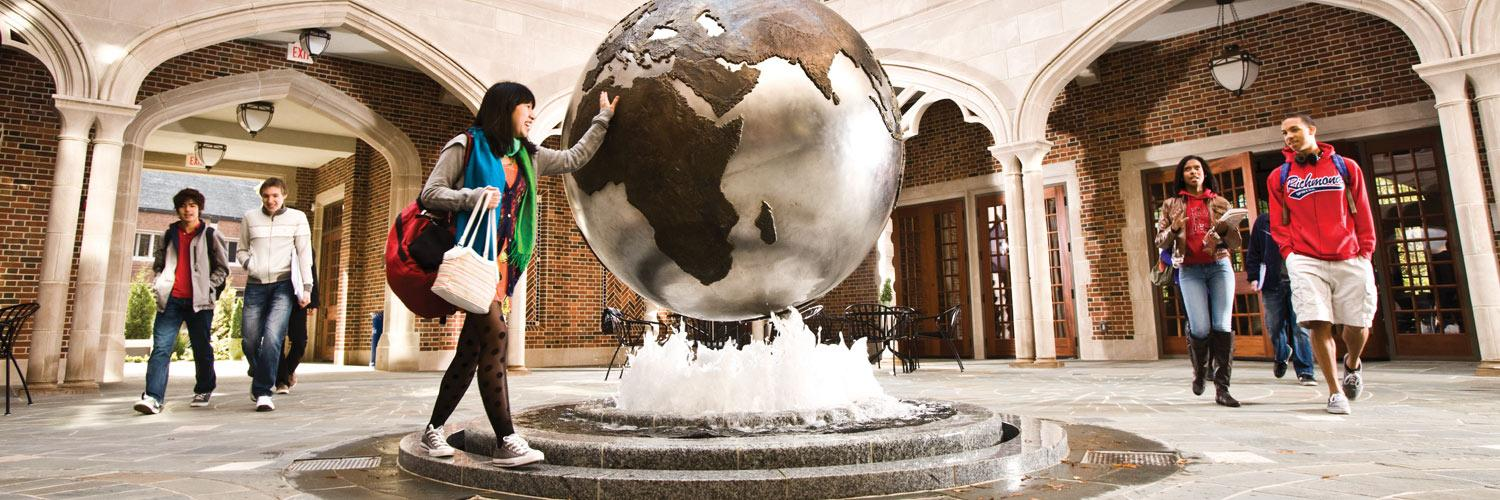 Spiders exceed the national average for studying abroad