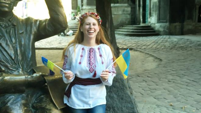 Taylor Johnson, '17 Awarded Fulbright to Ukraine