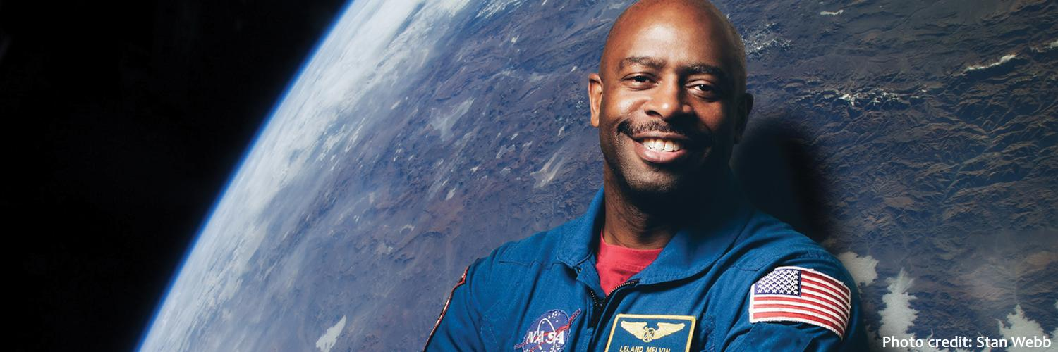 Chasing Space: An Evening with Leland Melvin, '86