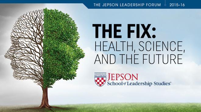 Jepson Leadership Forum Explores Questions About Human Health and Well-Being