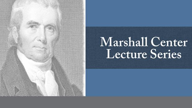 Marshall Center Lecture Series 2015-16