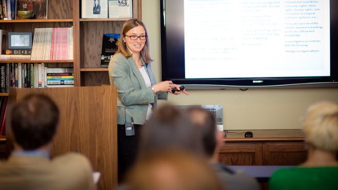 Zuzana Simoniova Cmelikova Visiting Scholar Program