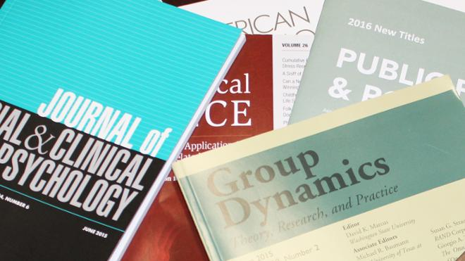 Recent faculty articles