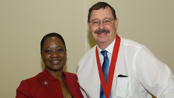 25-year SPCS Faculty Service Award