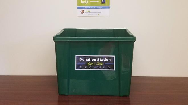 Donation Stations are Here!
