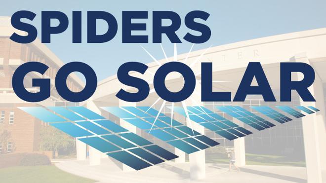 Spiders Go Solar