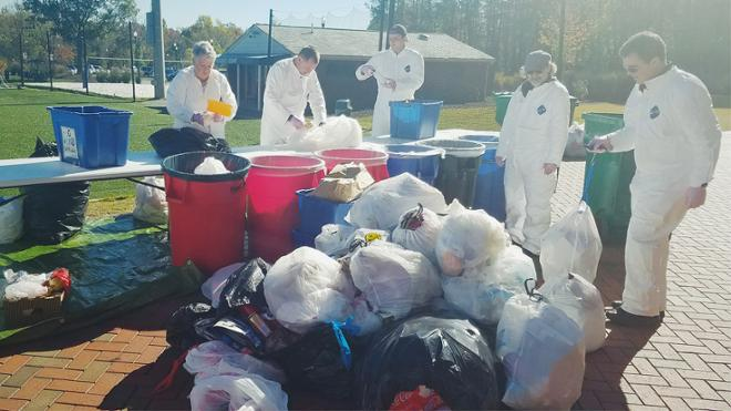 Volunteer at the Campus Waste Audit