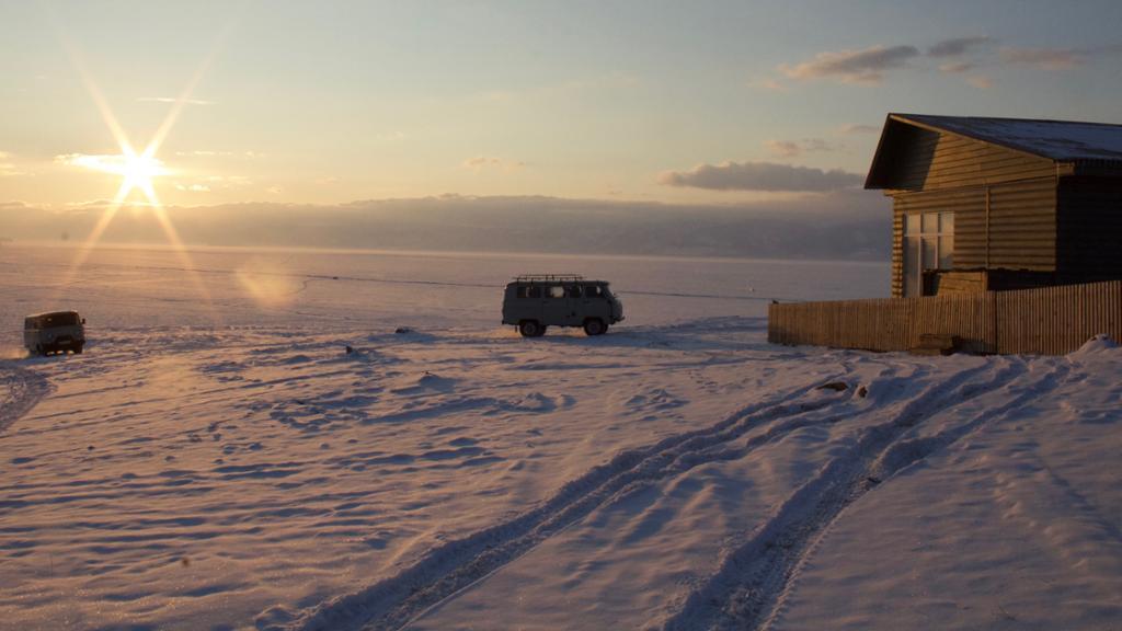 Siberia sunset