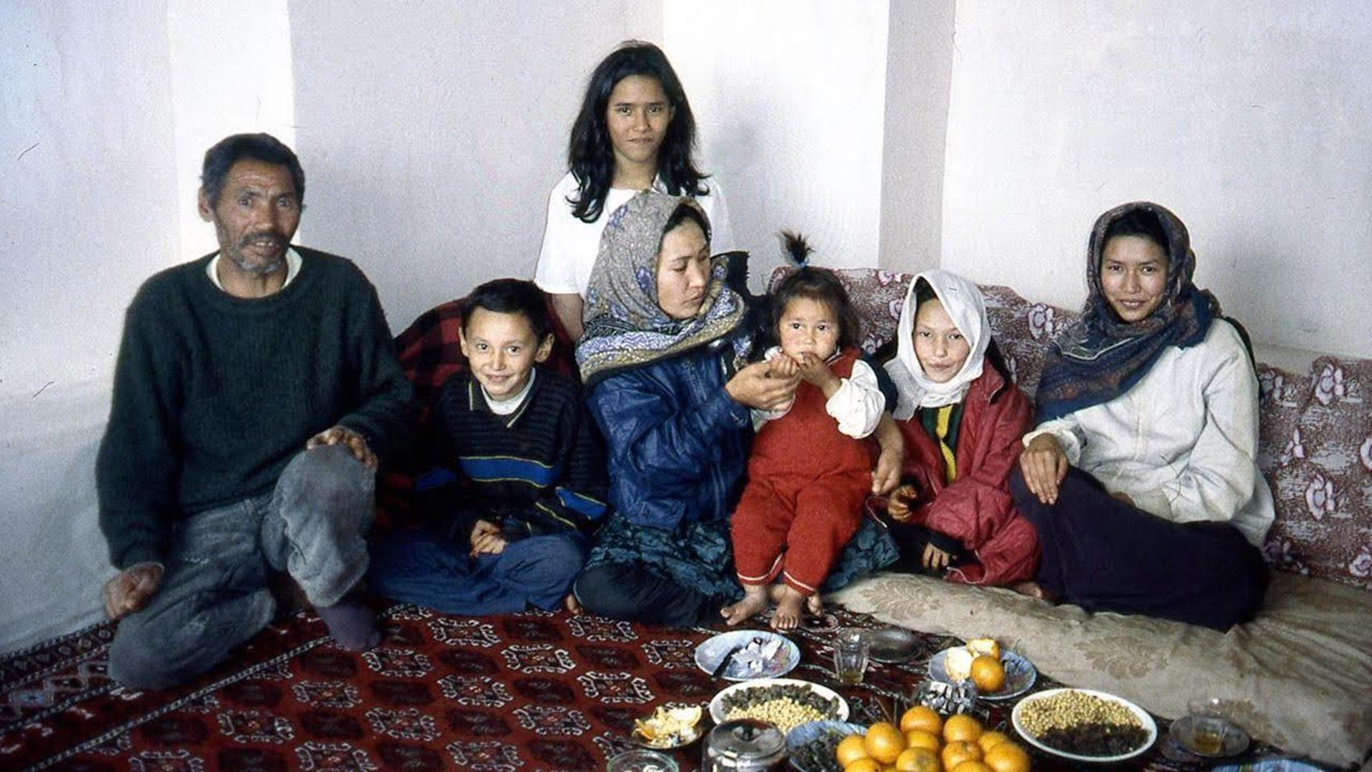 young Lina Tori Jan with family