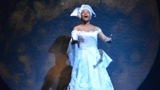 Richmond Scholar India Henderson portrays the Moon in the play