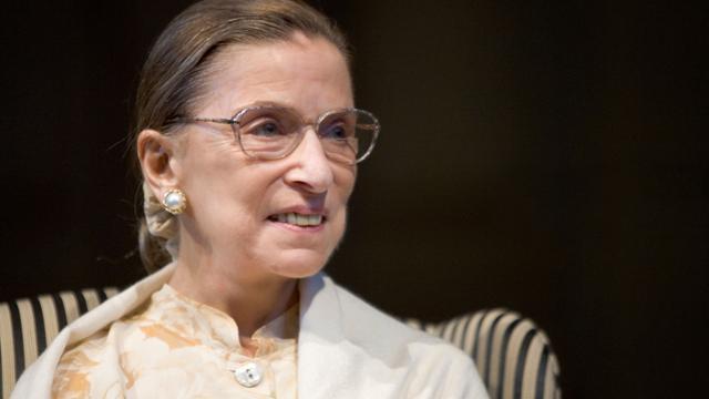Ruth Bader Ginsburg at UR