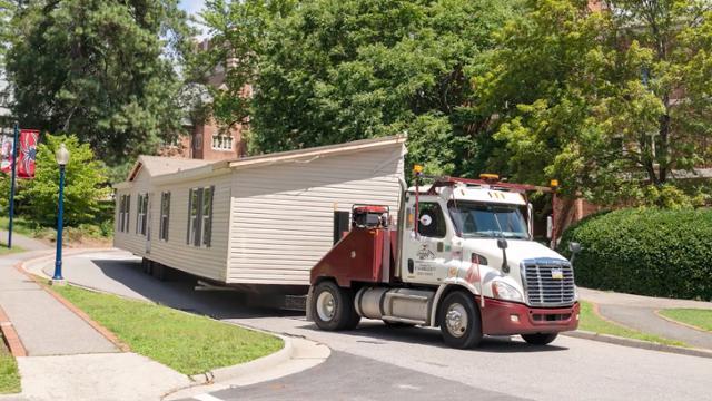 Modular units brought to campus