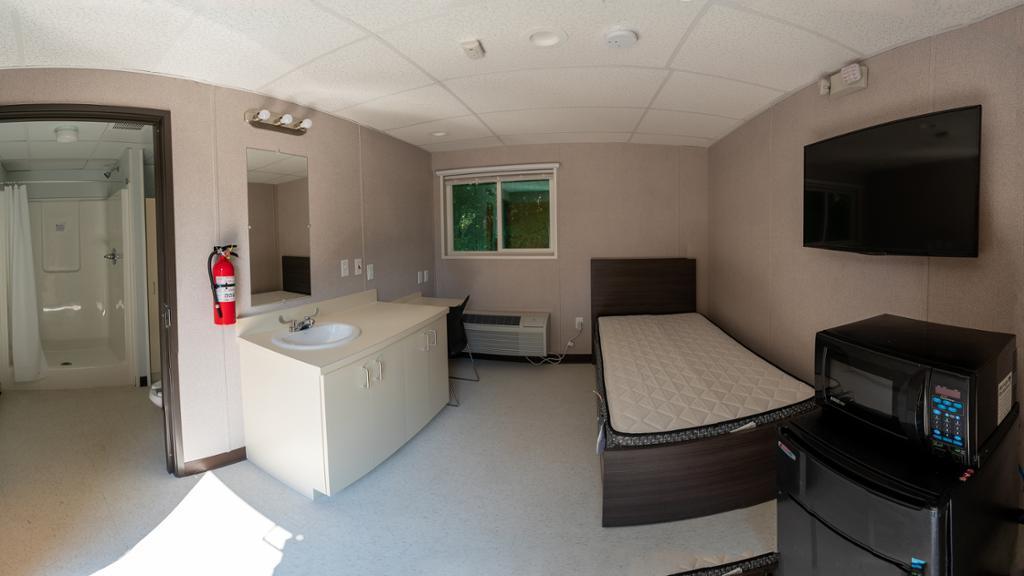 Interior of a modular unit