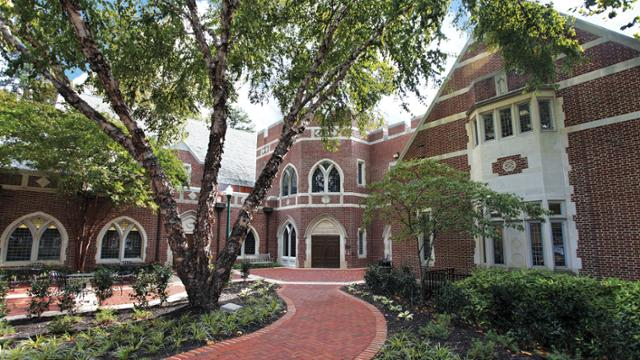Law school entrance