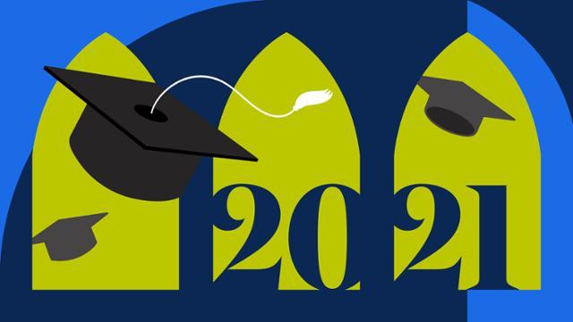 Commencement 2021 illustration