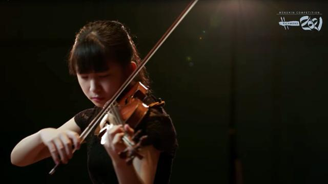 Performer at the Menuhin competition