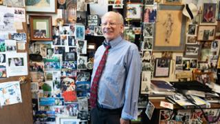 Joe Ben Hoyle in his office