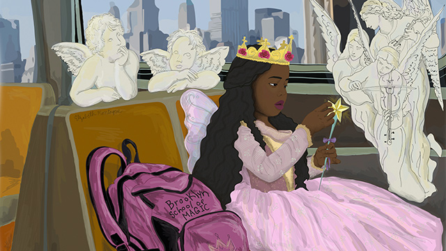 artist-drawing-black-princess