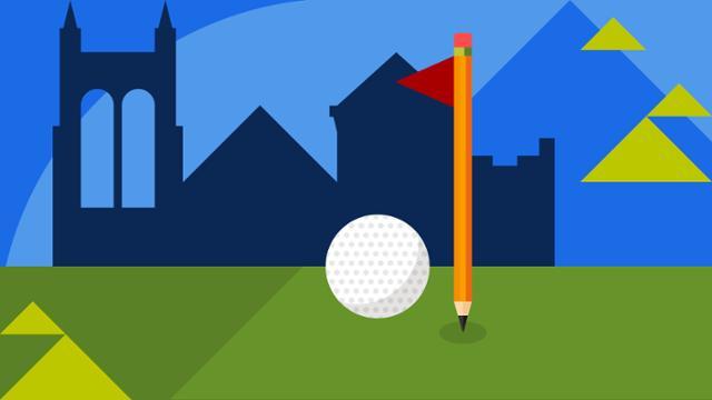 golf pga illustration