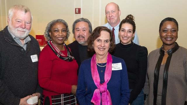 group of adjunct faculty