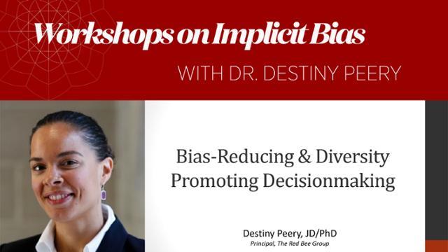 Destiny Peery headshot with