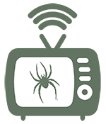 Television graphic with Spider