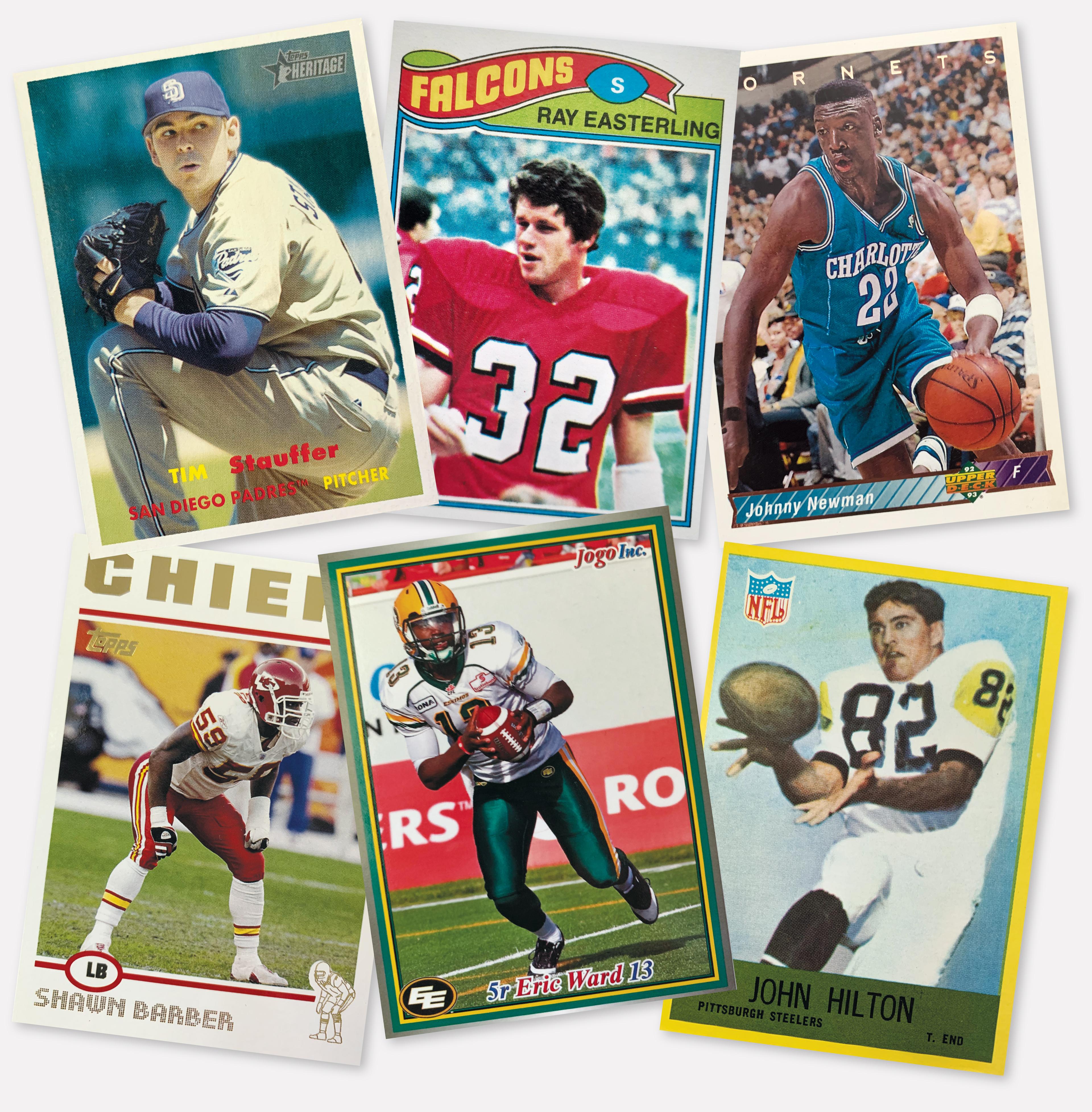 Spider athlete sports cards