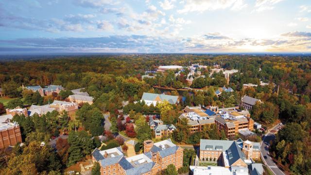 UR campus aerial