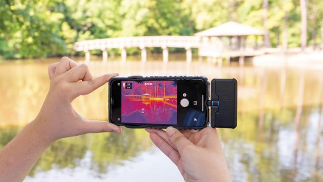 Mobile phone heat mapping