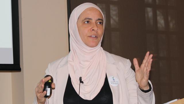 Rana Dajani, visiting scholar in the Jepson School of Leadership Studies