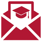 Graphic of a graduation invitation