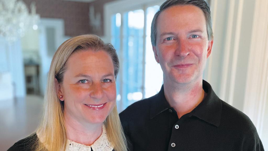 Bob and Ellen Walsh Peck, W¿91