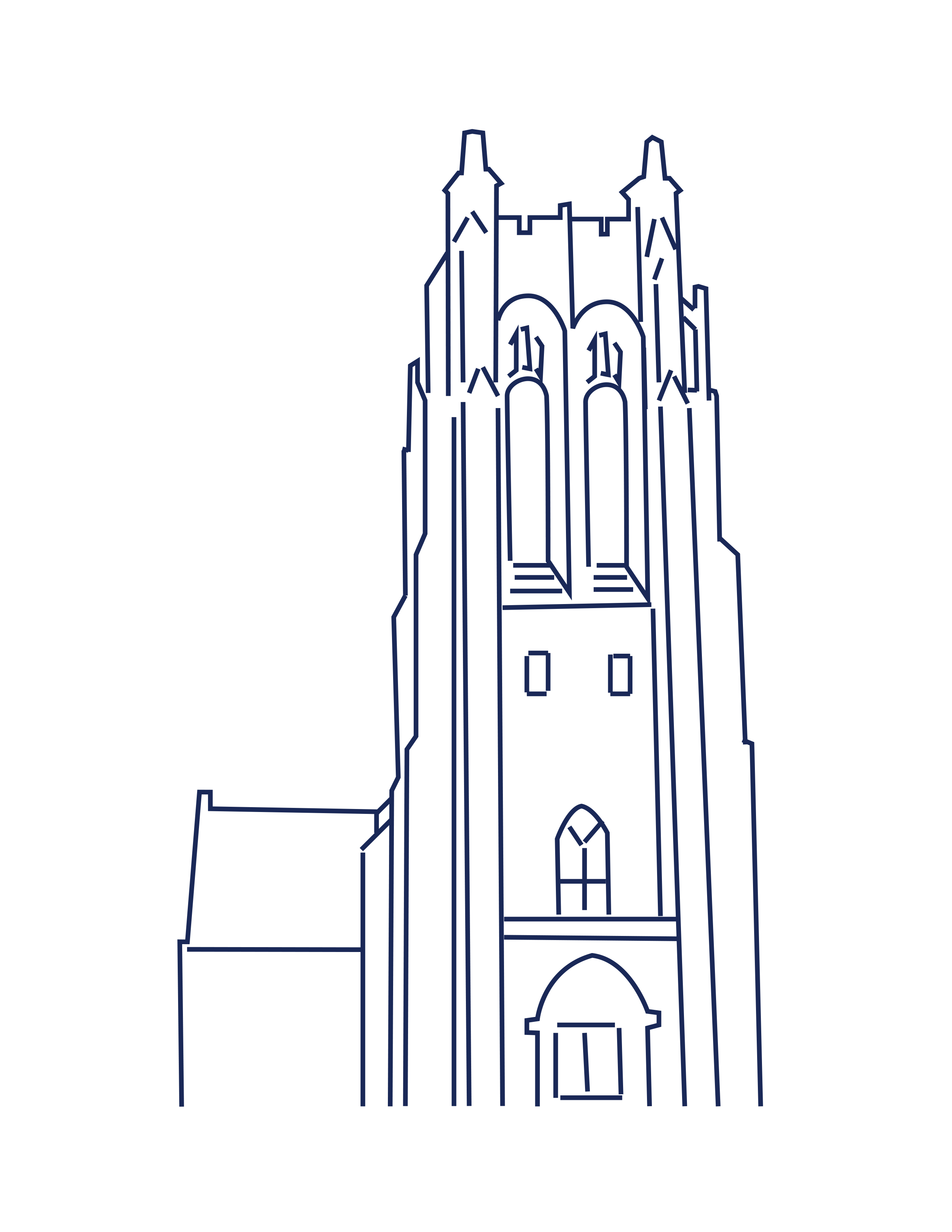 Boatwright Line drawing