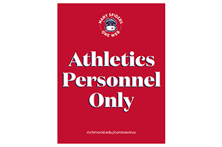 Athletics personnel only