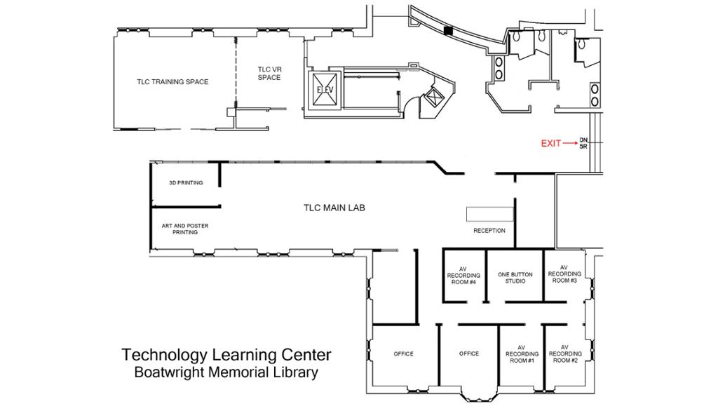 tlc floorplan
