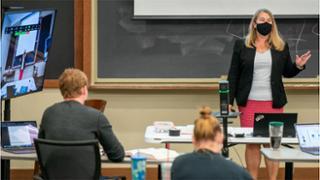 Professor Jessica Erickson teaching