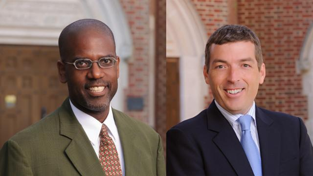 Headshot of Profs. Hank Chambers and Andy Spalding
