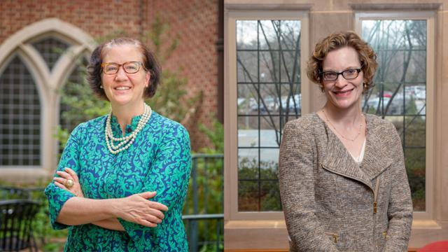 Headshots of Profs. Tait and Webb