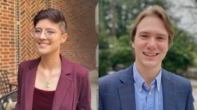 Nicole Gibson and Jonathan Walters