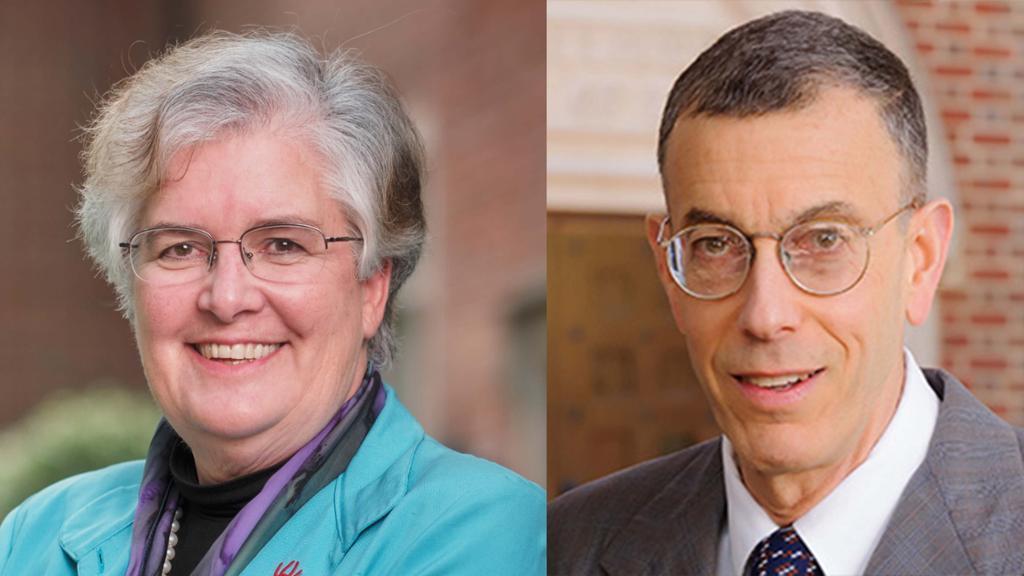 Dean Perdue and Prof. Carl Tobias Headshots