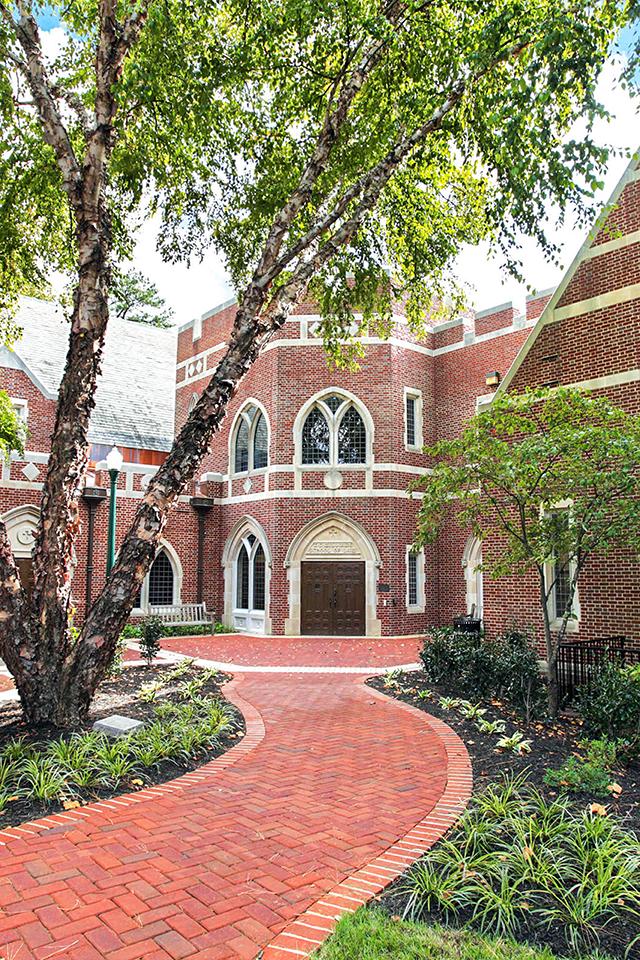 Law School entrance photo
