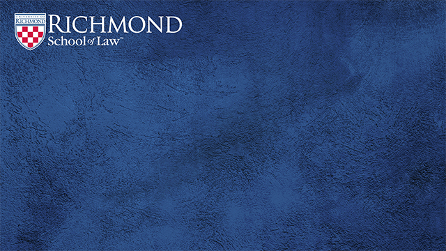 blue background with law logo