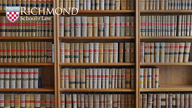 bookshelf background with law logo